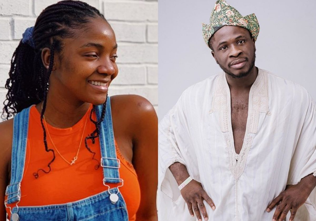 Comedian Dr Craze set IG on fire as he joins in Simi's 'Duduke Challenge' (Video)