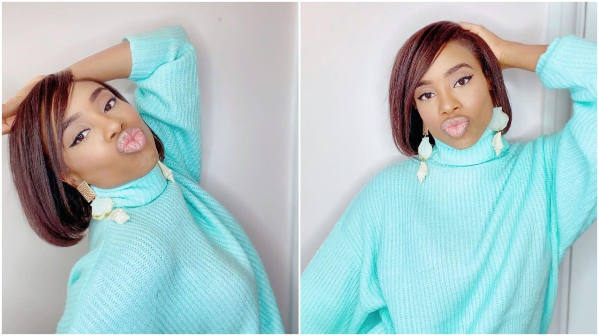 Maria Okan rocked new hair for live IG session (photos)