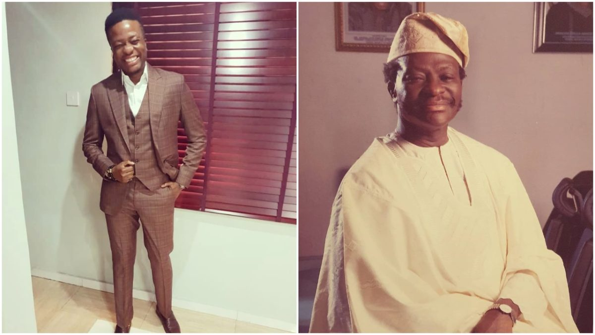 Dr Toolz husband celebrates his father at 75 (photo)