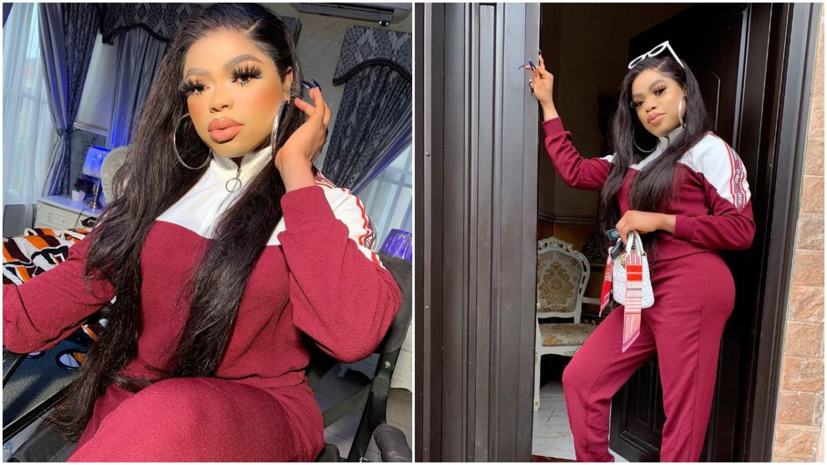 I'm travelling out to increase my butt as Bobrisky shows off his ass (video)