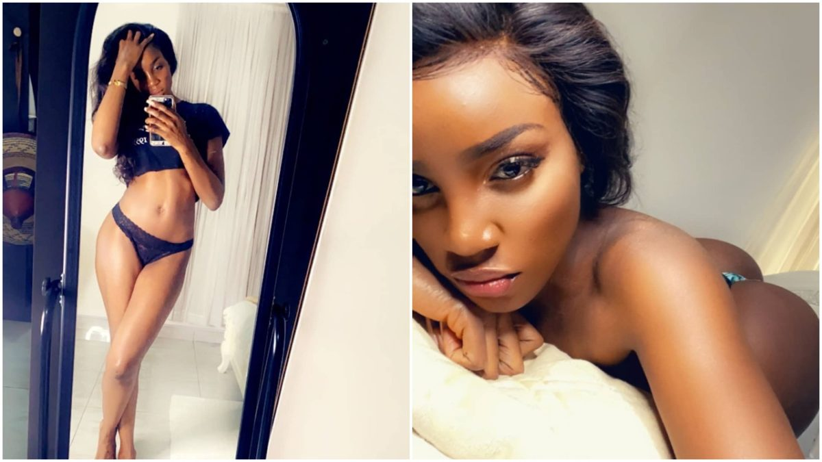 Seyi Shay shows off her glowing body (photo)