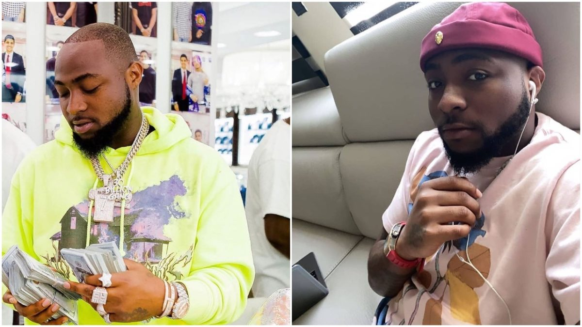 Davido gets himself a house that comes with an elevator in Banana Island (videos)