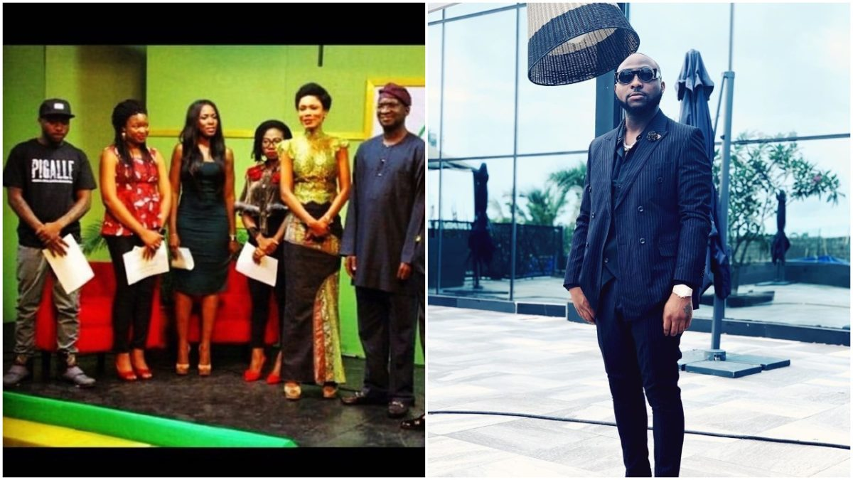Davido shares his throwback with Fashola and others (photo)