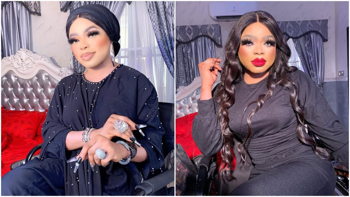 Bobrisky arrested in his Lekki house this morning (video)