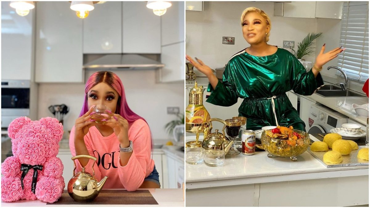 Tonto Dikeh gifts her maid a new iPhone 11 Pro Max (video)