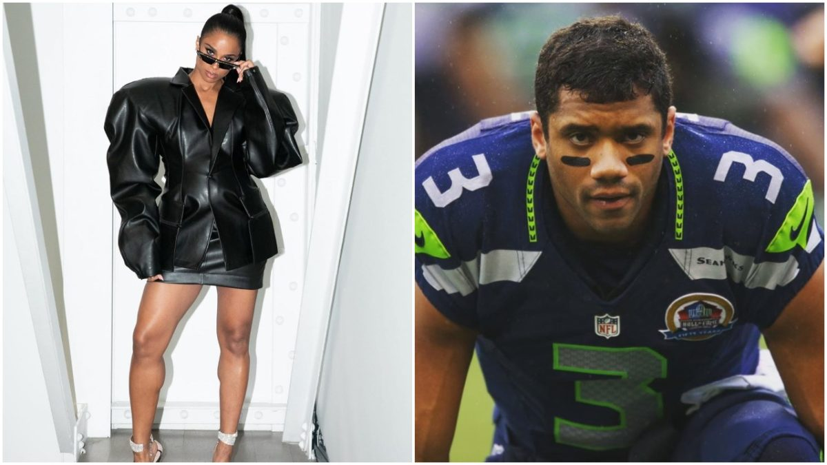 Ciara shows throwback photo of herself and husband when in high school (photos)