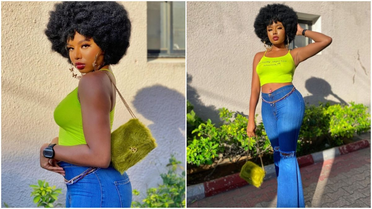Nancy never disappoints as she rock new afro hairstyles (photos)