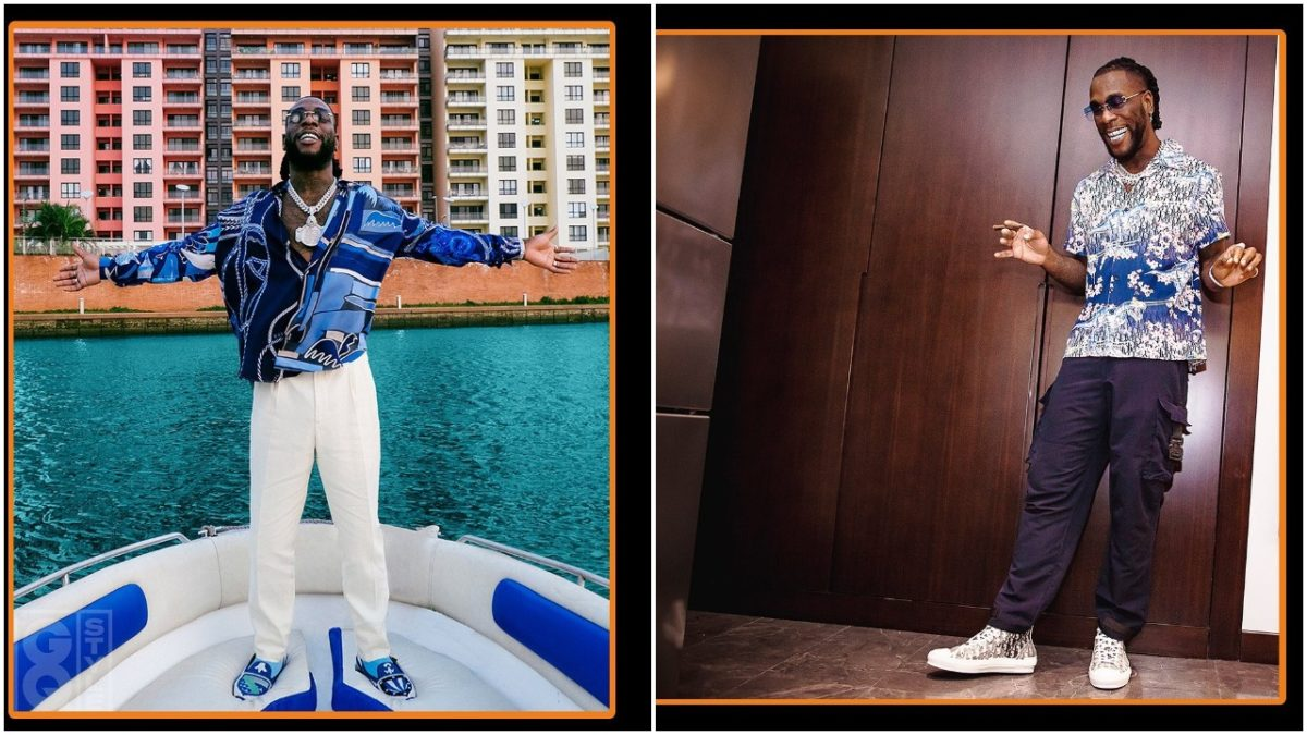 Burna Boy fights with neighbours after disturbing them (video)