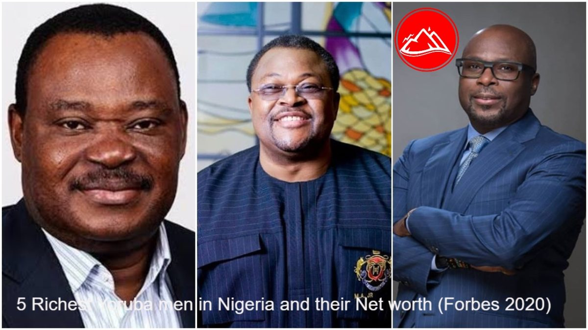 5 richest Yoruba men in Nigeria and their Net worth