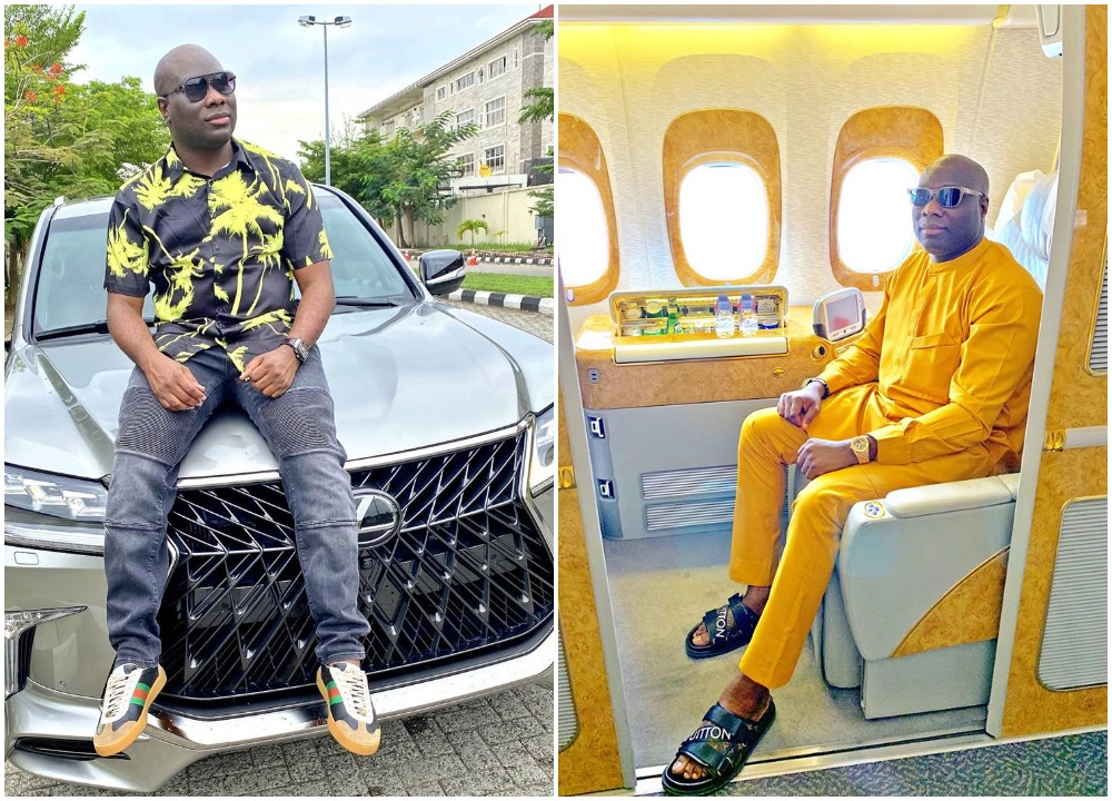 "Mompha celebrates birthday with a New Lexus Jeep 2020  - Mompha celebrates birthday with a New Lexus Jeep 2020 - ""I usually give people more chances than they deserve"" – Mompha says (photo)"
