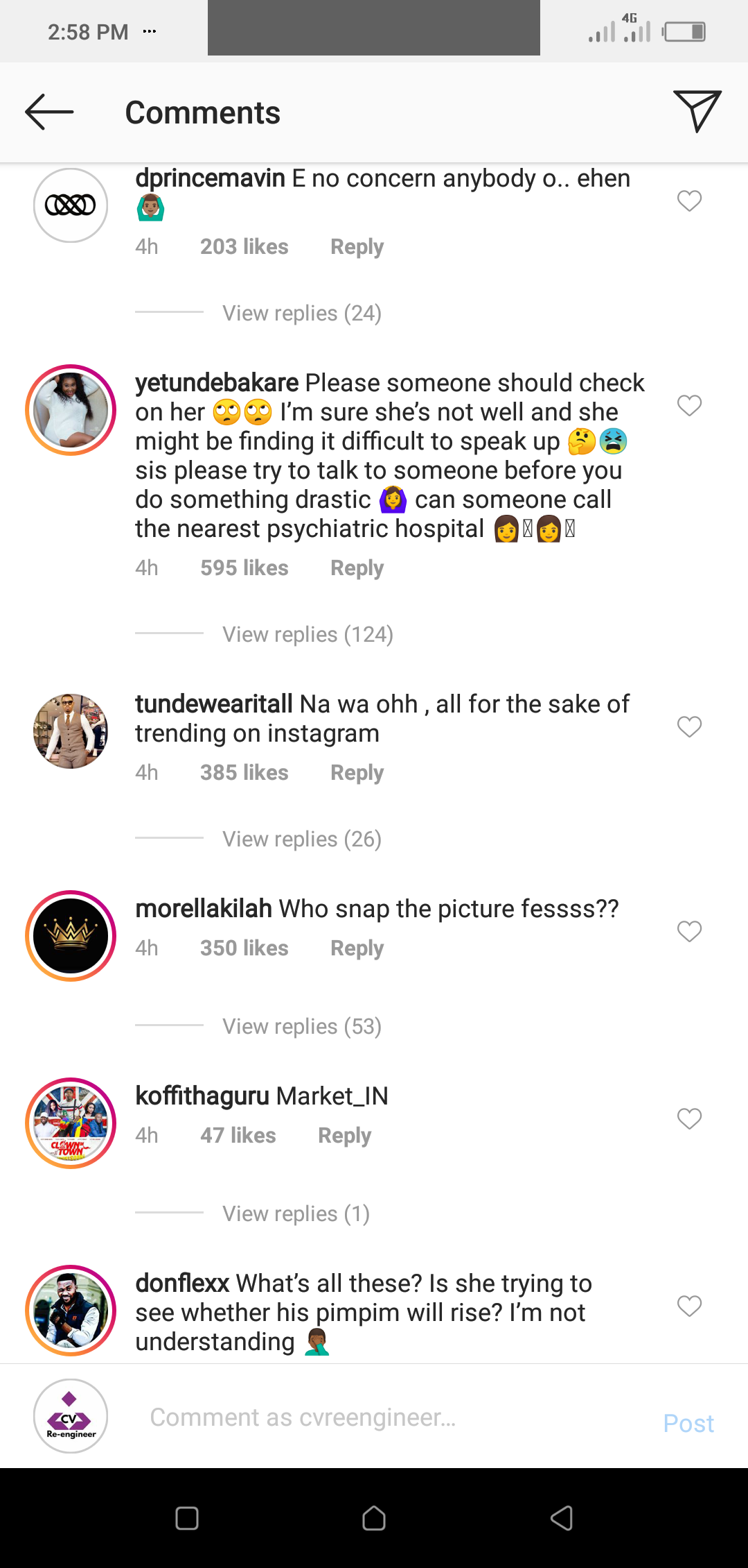 https://www.creebhills.com/  - Screenshot 20200630 145843 1 - Nigerians Bash Actress Alade Brown For Doing A Naked Shoot To Celebrate Her Son