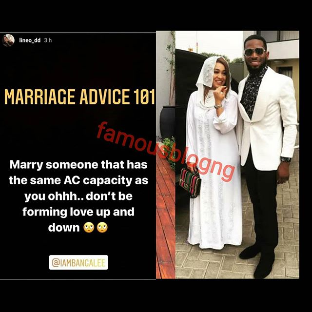 D'banj wife Lineo Didi Kilgrow dishes out relationship advice