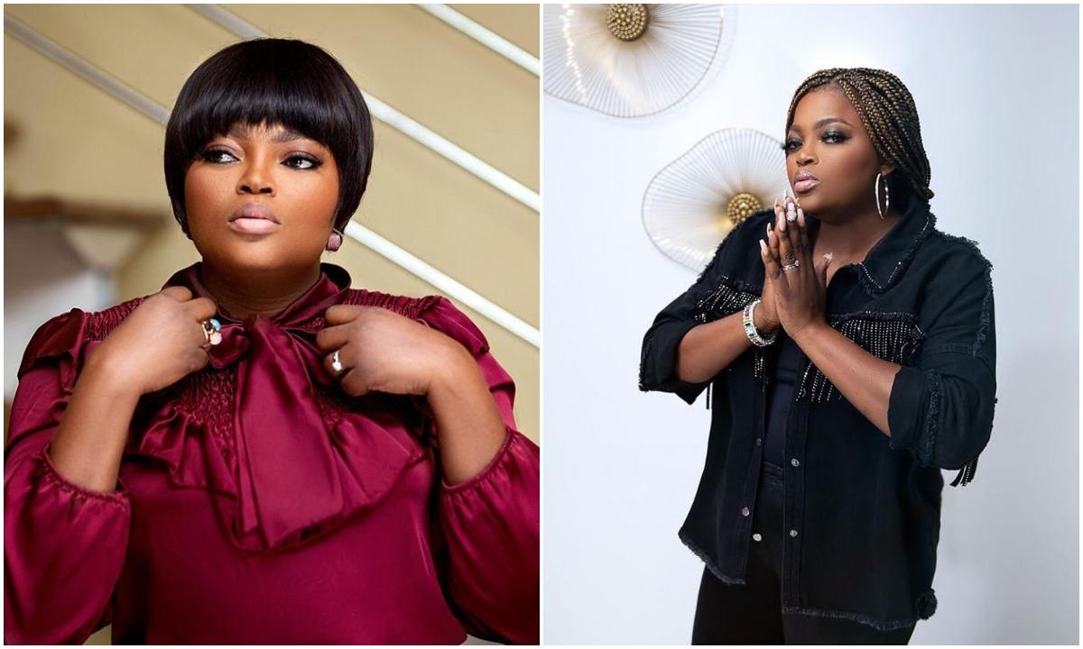 Funke Akindele blasts a fan who blamed Uwa for her own Death