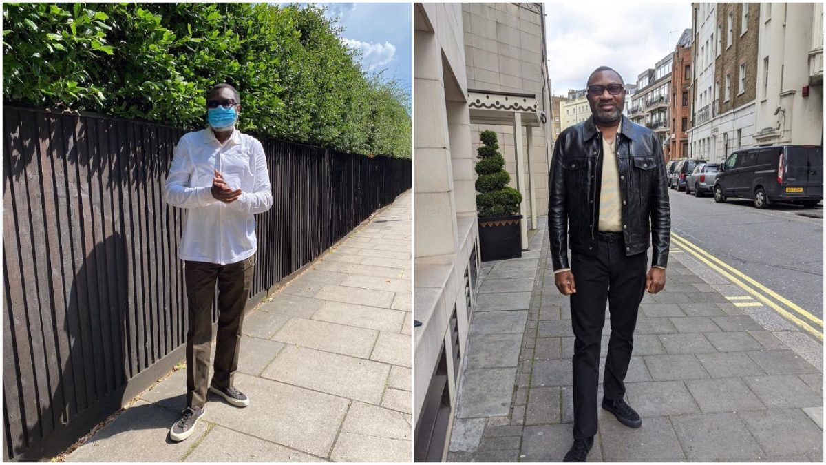 Nigerian Billionaire, Otedola shows up after lockdown, says staying active (photo)