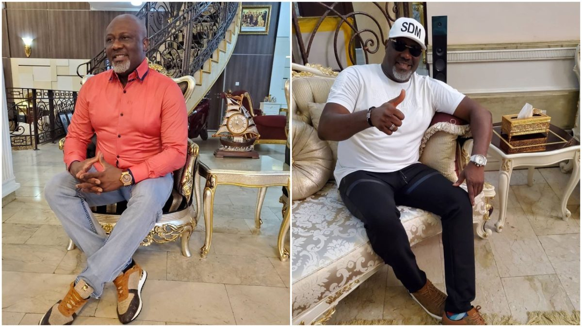 Nigerian politician, Dino Melaye joins the 'don't leave me challenge' (photo)