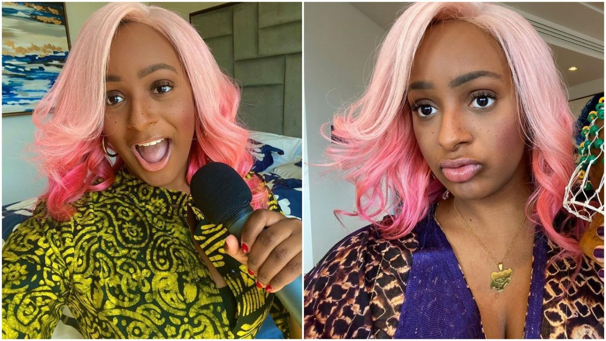 DJ Cuppy joins the movement, #BlackLivesMatter today (photos)