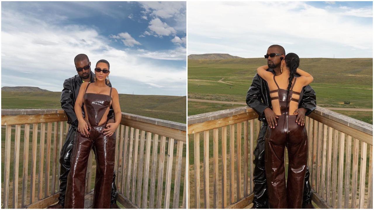 """I'm so proud of my beautiful wife"" - Kanye West says as Kim Kardashian turns a billionaire (photos)"