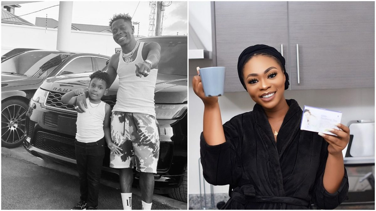Ghanaian singer, Michelle Diamond celebrates Father's Day with son (photos)