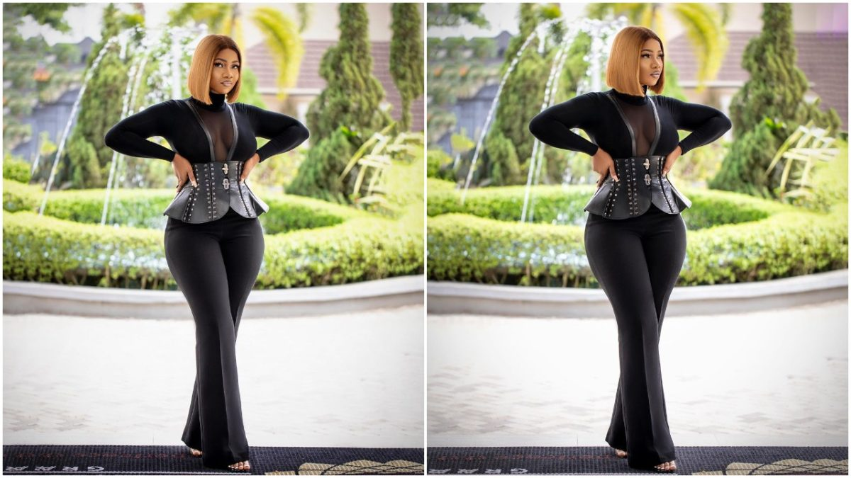 Former BBNaija housemate, Tacha caught lying about her age during an interview (video)
