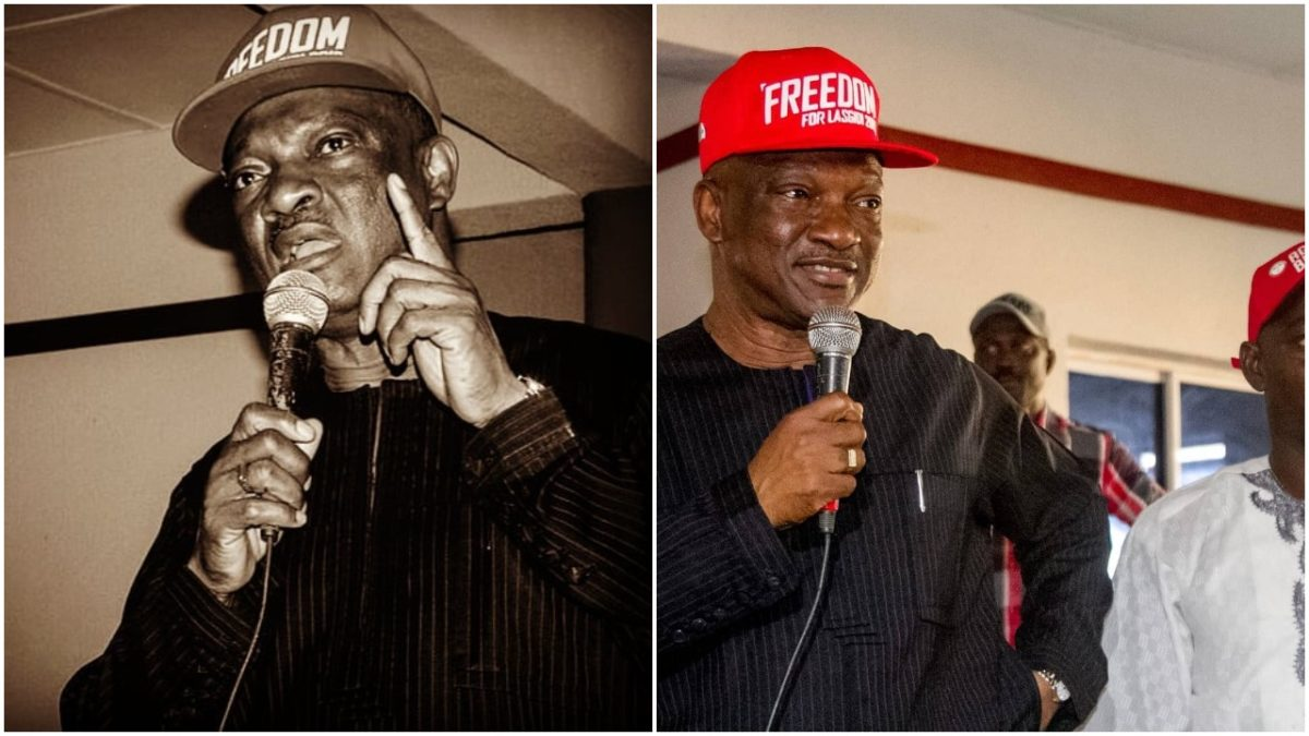 Former Lagos state governorship candidate, Jimi Agbaje speaks up about Nigeria democracy (photo)