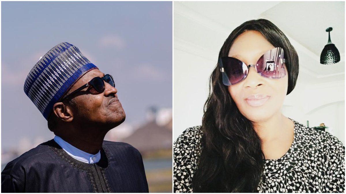 President Buhari preparing complete two weeks of lockdown - Kemi Olunloyo (photo)