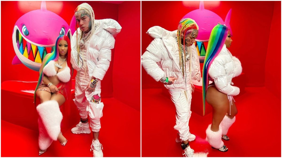 6ix9ine and Nicki Minaj's song, Trollz becomes No.1 on Billboard Hot 100 (photo)