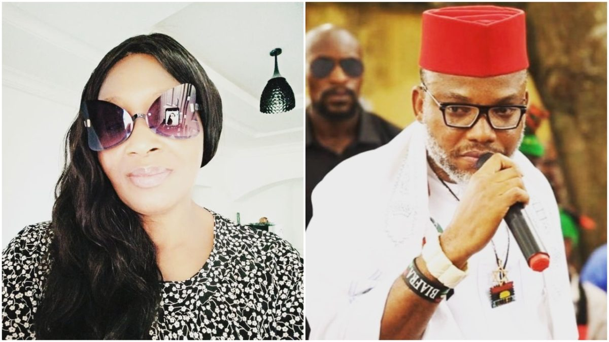 Stop talking from the grave like Michael Jackson, Kemi Olunloyo tells Kanu (photo)