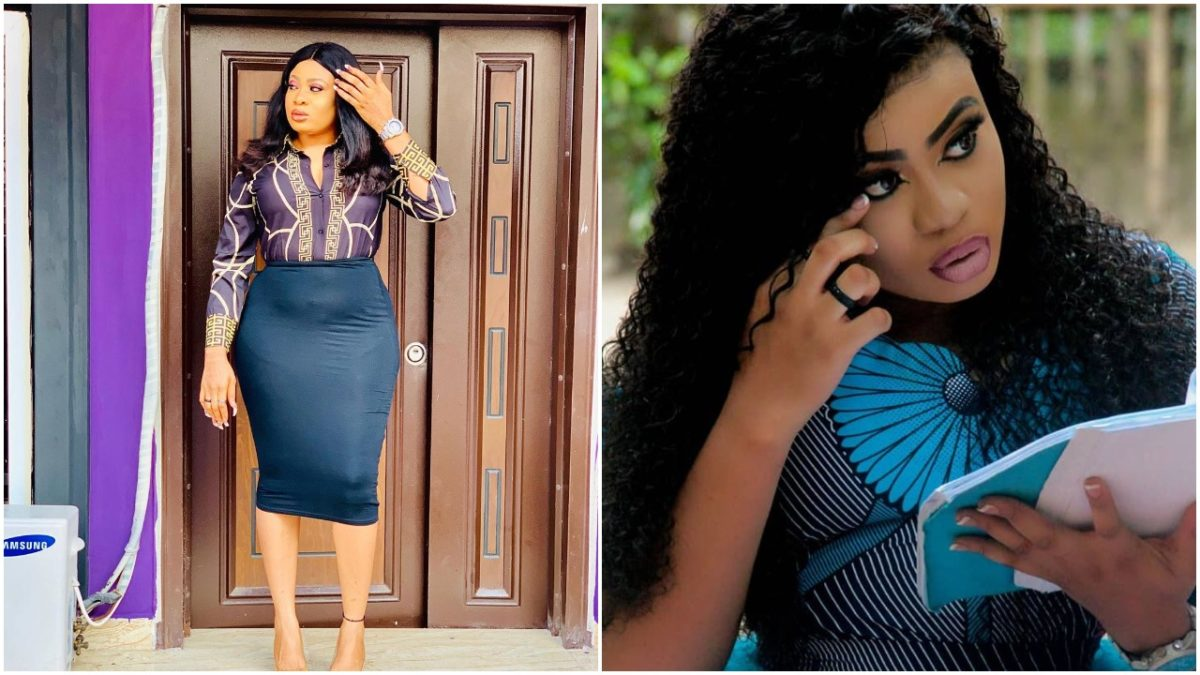 Actress Omalicha glows in new dress with a sexy look (photo)