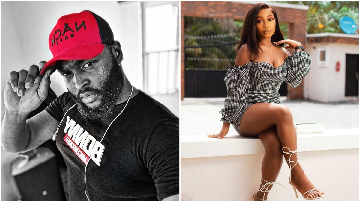 """#BBNaijaReunion: """"You're a lying scum"""" - Esther blasts Nelson for denying their relationship (video)"""
