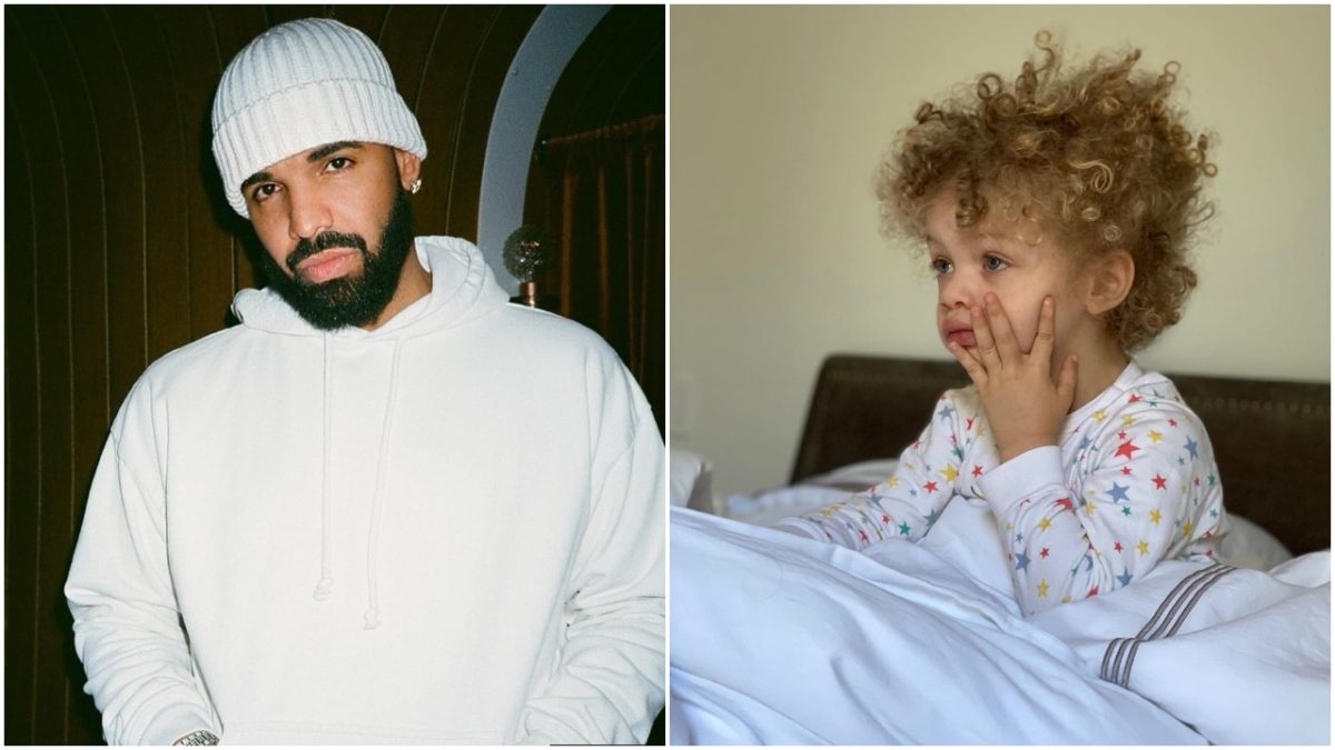 Canadian Rapper, Drake joins the Father's Day celebration (photo)