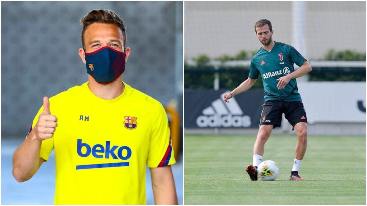 Juventus and Barcelona agrees to a swap Arthur and Pjanic at the end of season