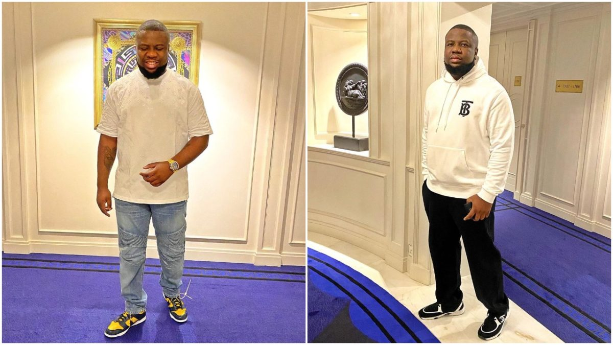 Don't join #BlackLivesMatter movement if you're bleaching, Hushpuppi says (photo)
