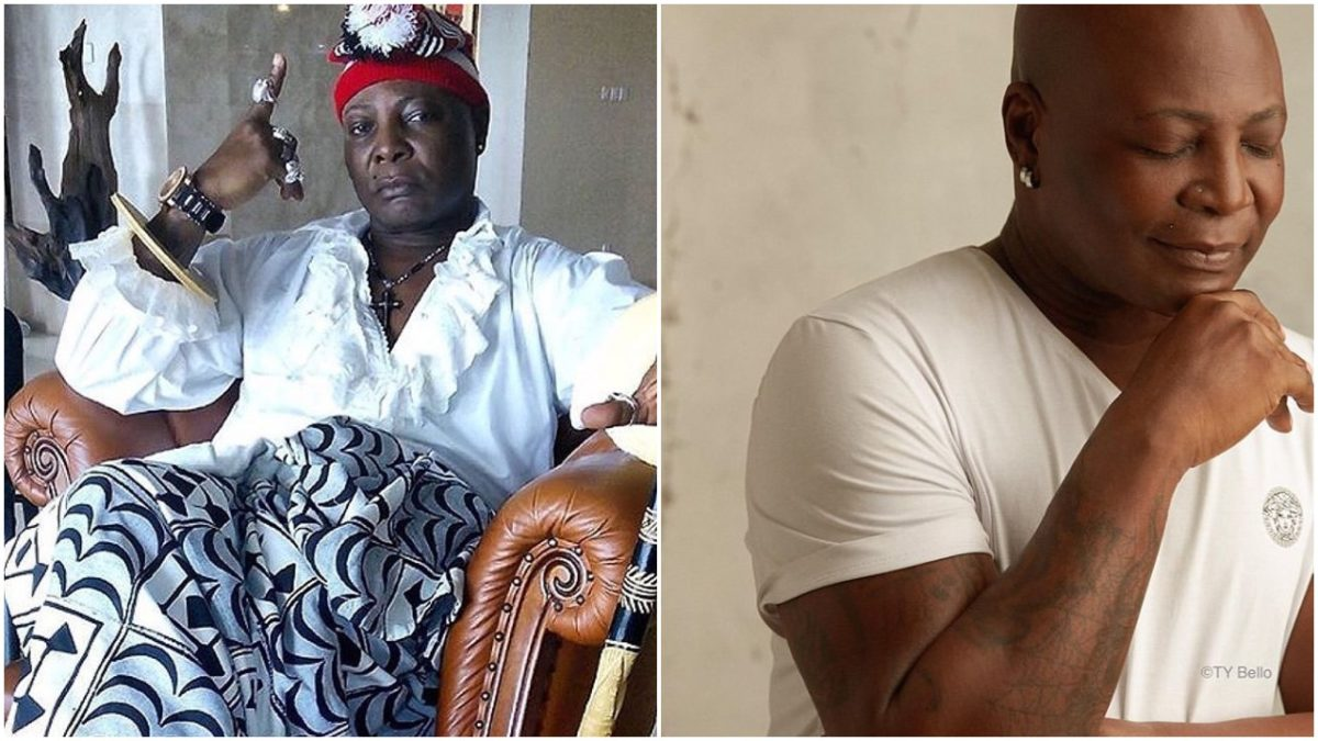 Popular singer Charly Boy, Area father clocks 70 years of age (photo)