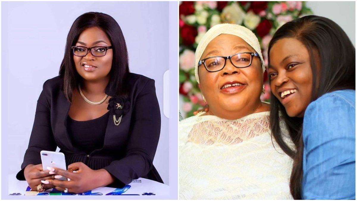 Popular Yoruba actress, Funke Akindele celebrates her mom's birthday (Photo)