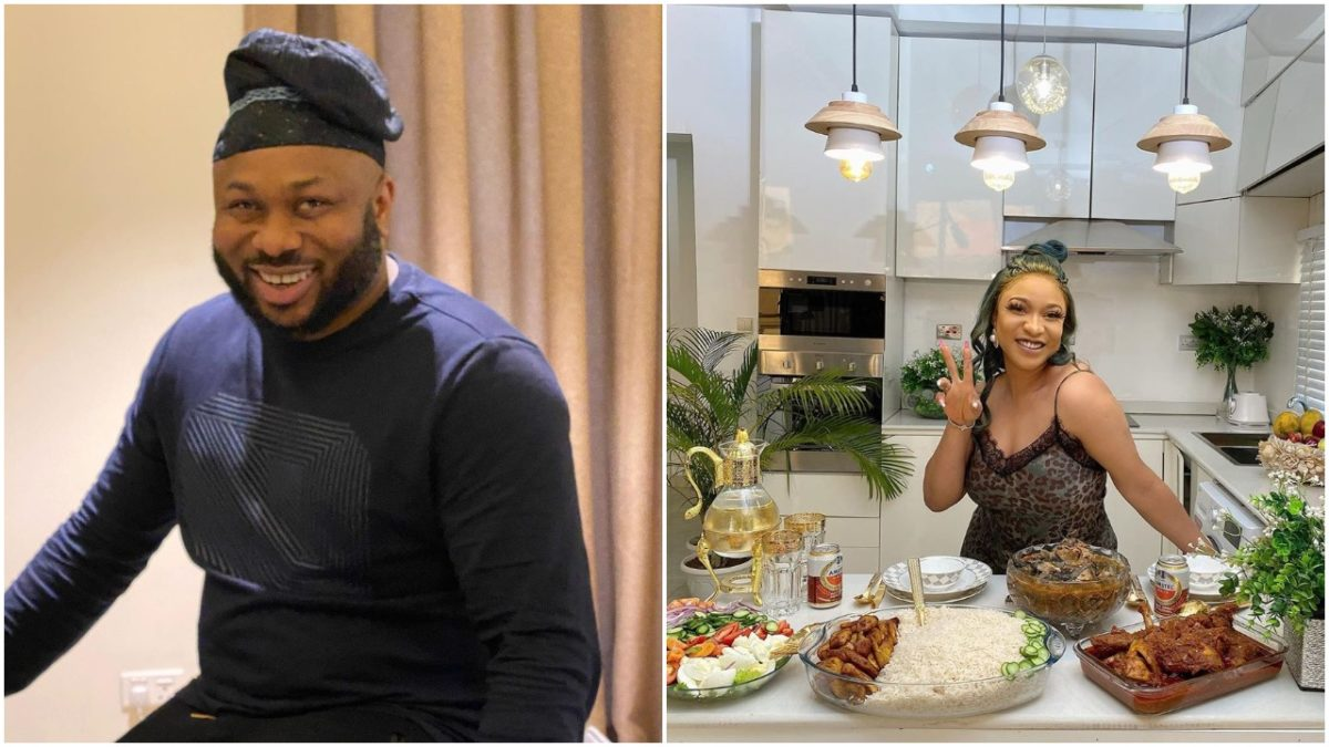 Churchill consoles all fathers as his ex, Tonto Dikeh, claims paternity of their child (photos)
