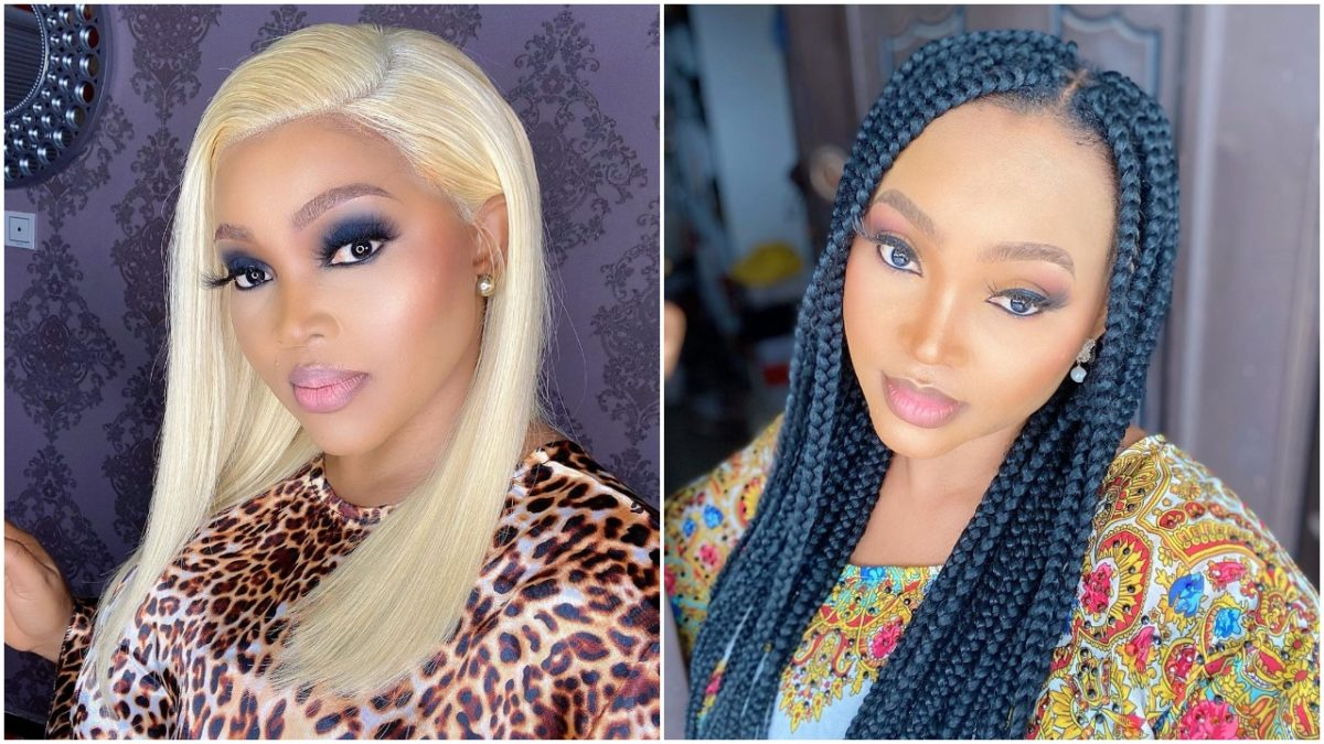 Mercy Aigbe celebrates new month with beautiful hairstyle (photo)
