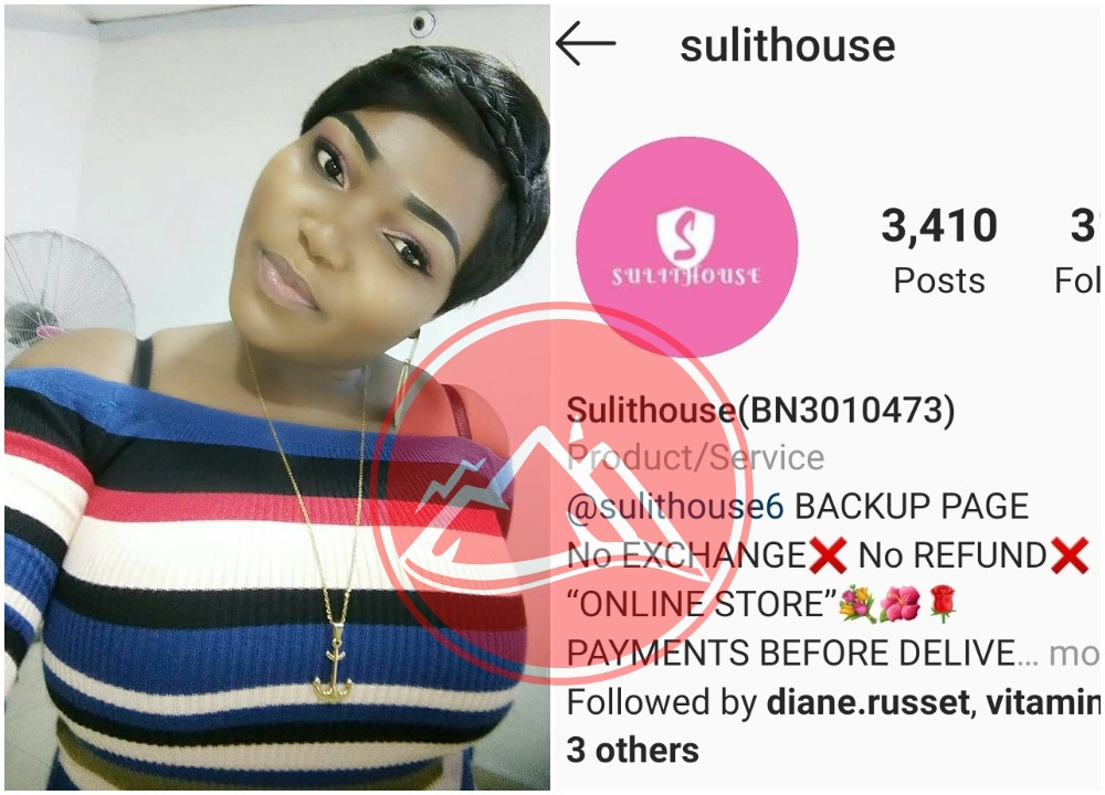 Nigerian lady drags instagram Hair Vendor Sulithouse (photos)