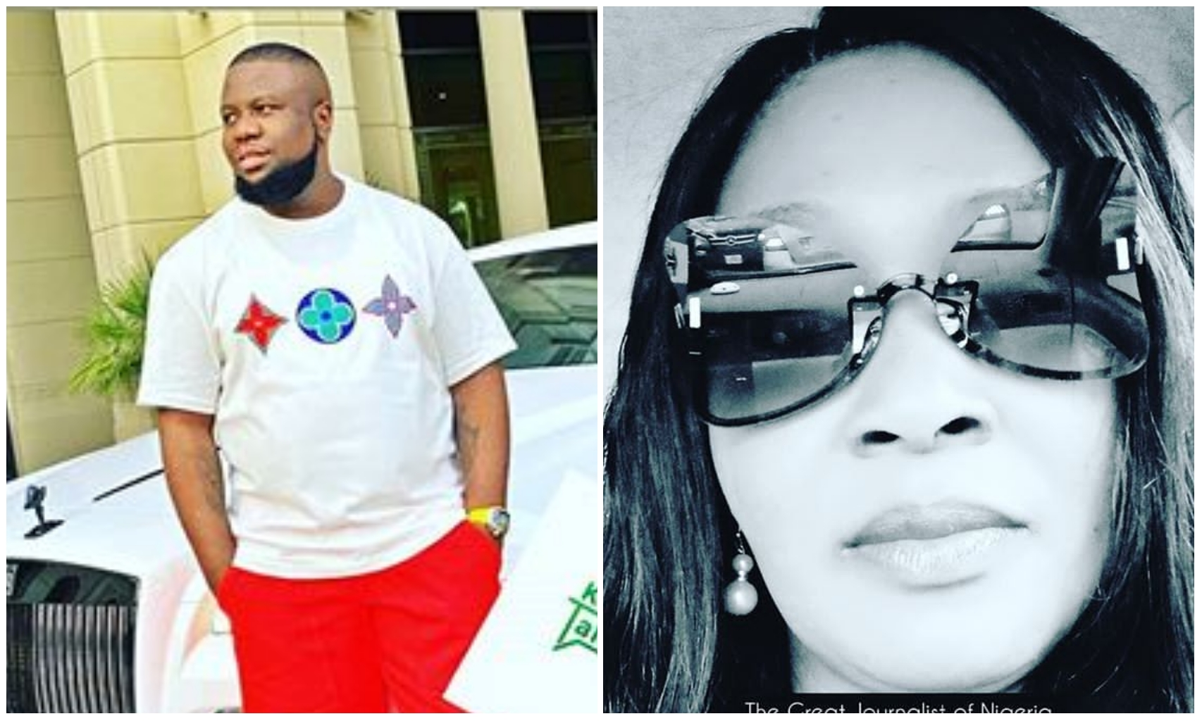 """I thank God I never collected Hushpuppi's money"" – Kemi Olunloyo shares excitement"