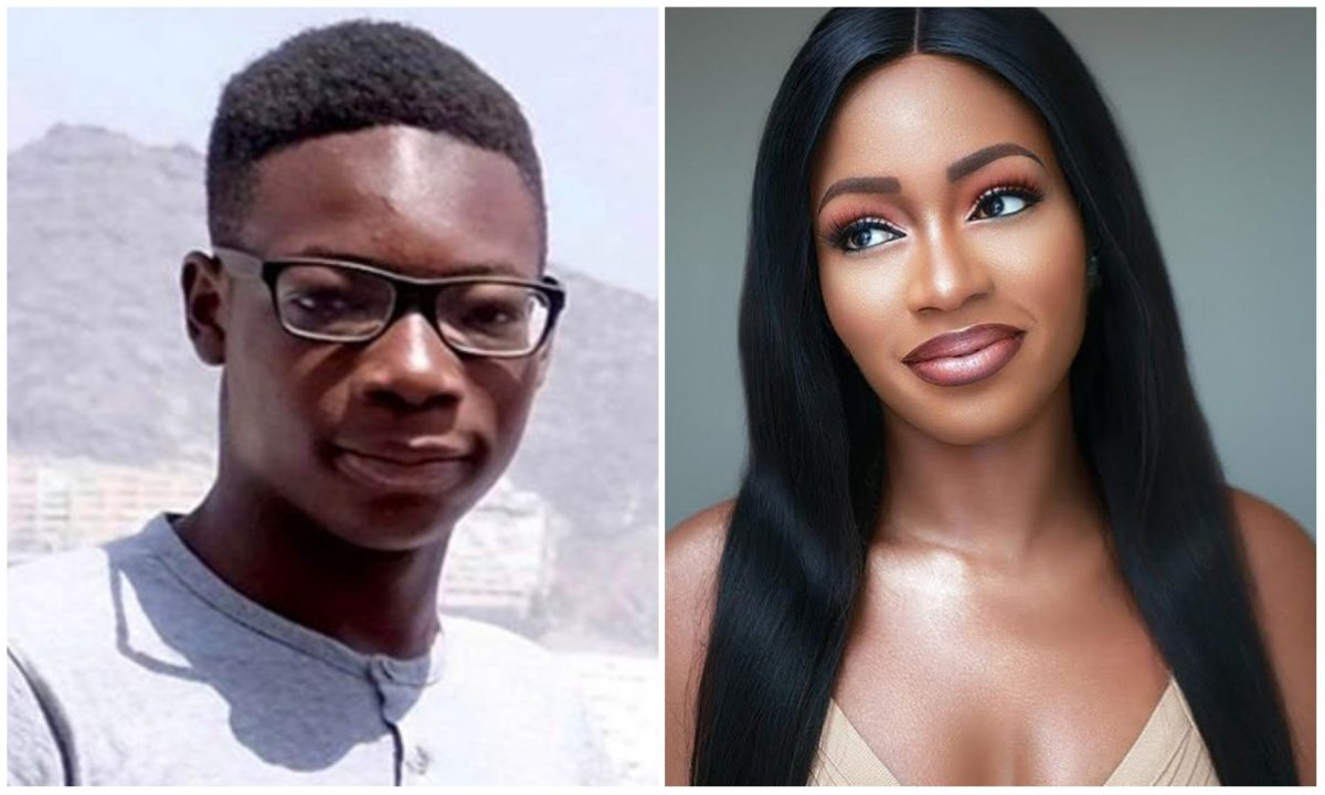 I love you now and forever – BBNaija's Khafi mourns as his brother is finally laid to rest (Photo)