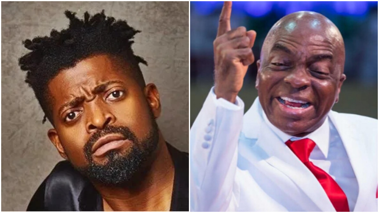 Basketmouth Reacts To Pastor Oyedepo's Stand On Tithing, Says Its Ridiculous (Photo)