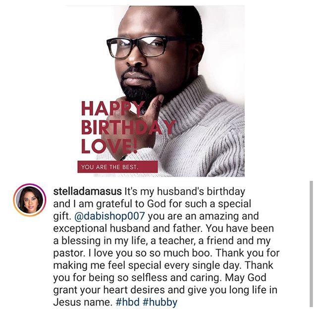 - lindaikejiblogofficial 20200731 0001 - Stella Damasus pens heartfelt message to celebrate her husband's birthday