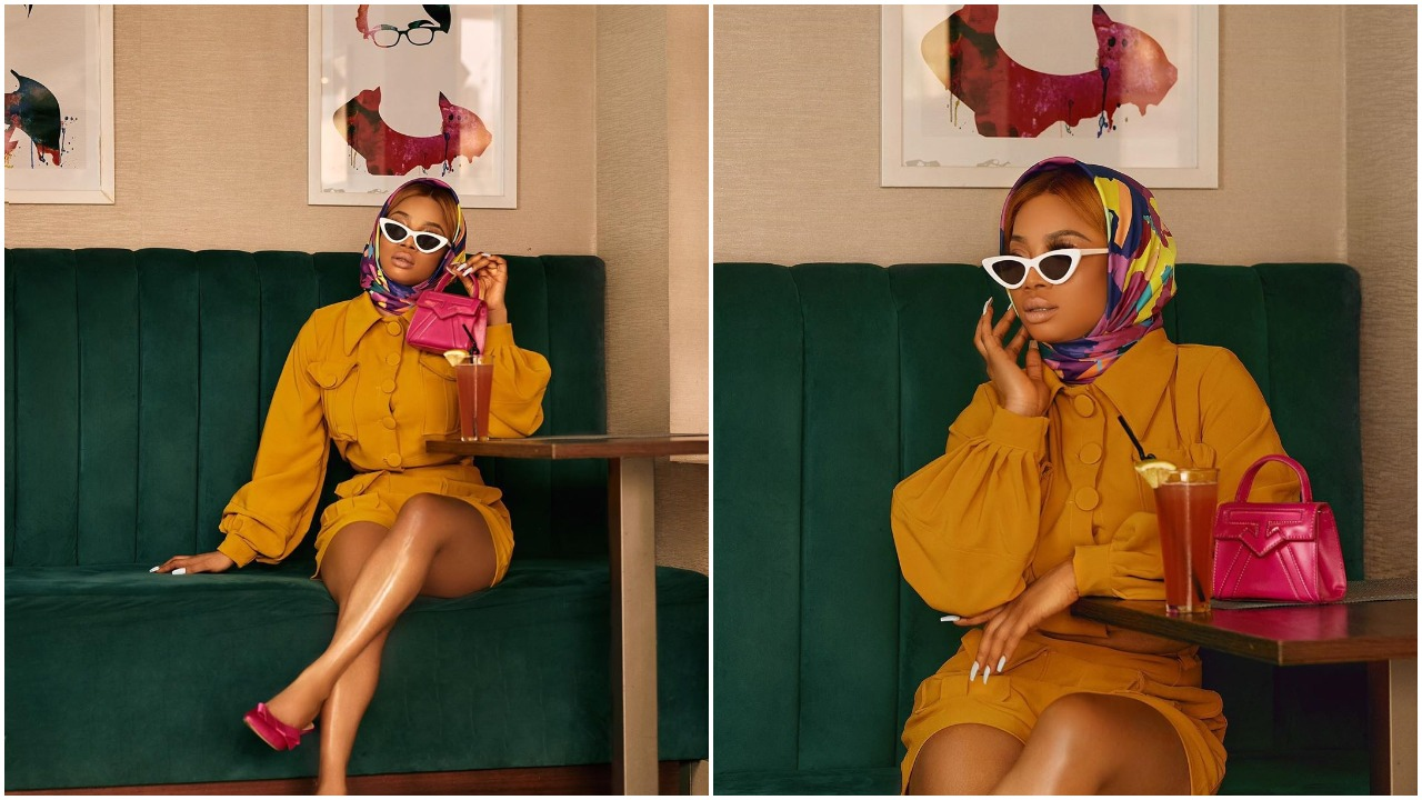 """""""I don't hate men, I hate patriarchy,"""" Toke Makinwa makes it clear about feminism (photo)"""