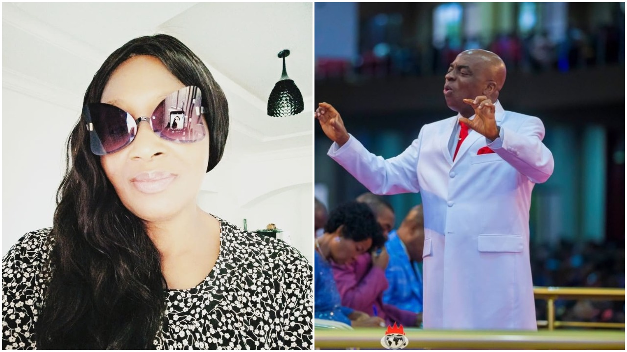 """""""Please keep shut, we are not opening churches"""" - Kemi Olunloyo attacks CAN (photo)"""