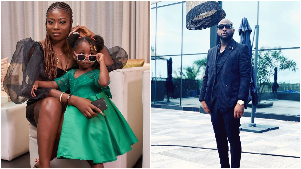Davido's babymama Sophia Momodu gushes over love between Davido and his child Imade (Video)