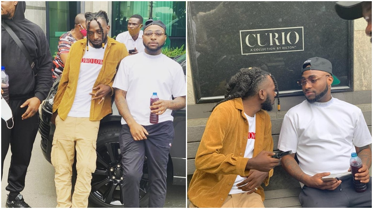Singer May D joins Davido's DMW record label, set to release new song (photo)