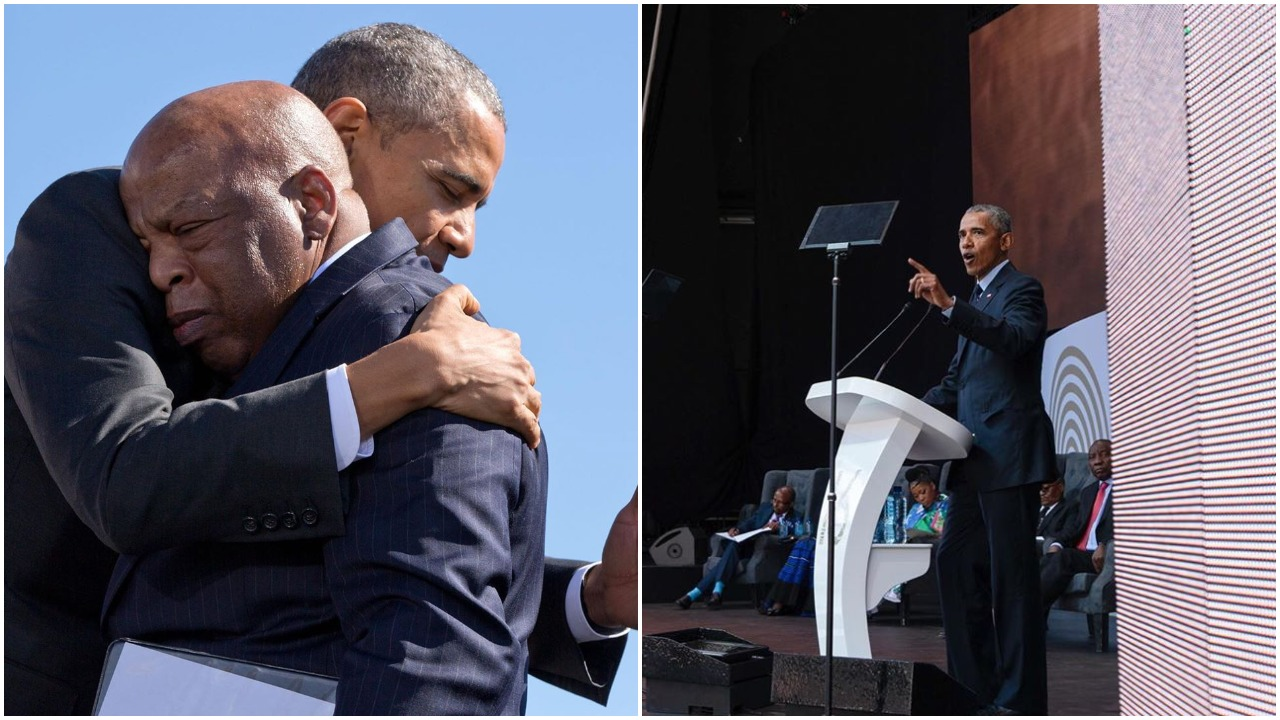 Not many of us get to live to see our own legacy playout - Barrack Obama pays tribute to late John Lewis (Photos)