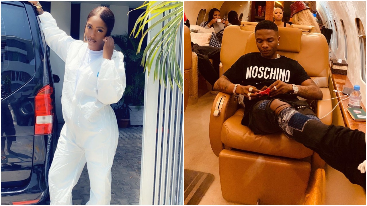 Fans attack Tiwa Savage for not celebrating his friend, Wizkid on his birthday (Photos)