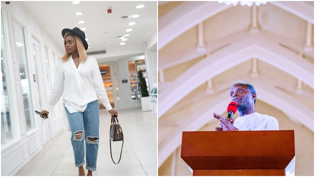 VP daughter, Kiki Osinbajo reacts to claims about her 800 Million property in Abuja (photo)