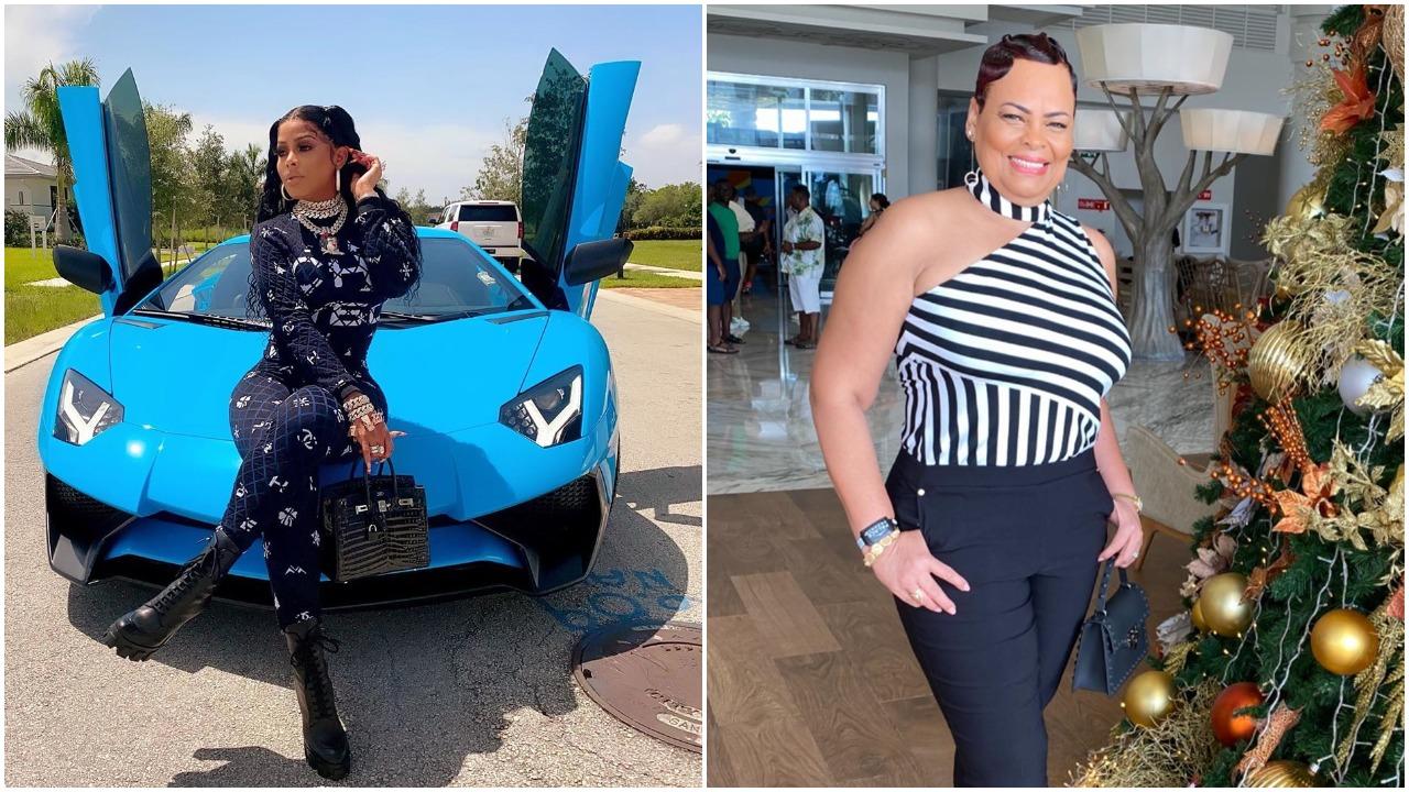 Model Keyshia Ka'Oir Gifts Her Mum a Brand New customized Bentley (video)