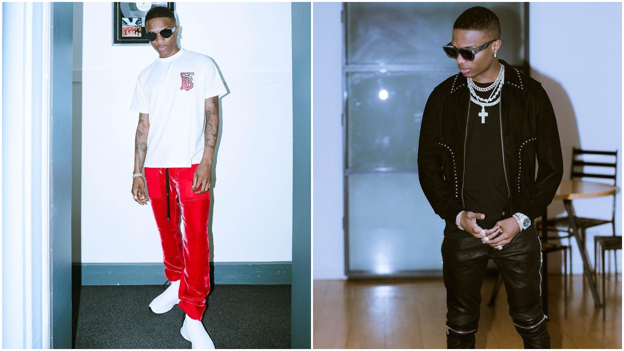 Joyful moment when superstar Wizkid was surprised by his crew with a birthday party (Video)